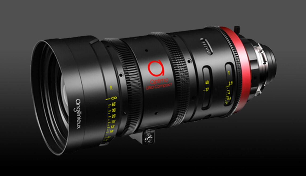 Angenieux(アンジェニュー)が超小型ズームレンズ「Optimo 37-102mm T2.9」を発表