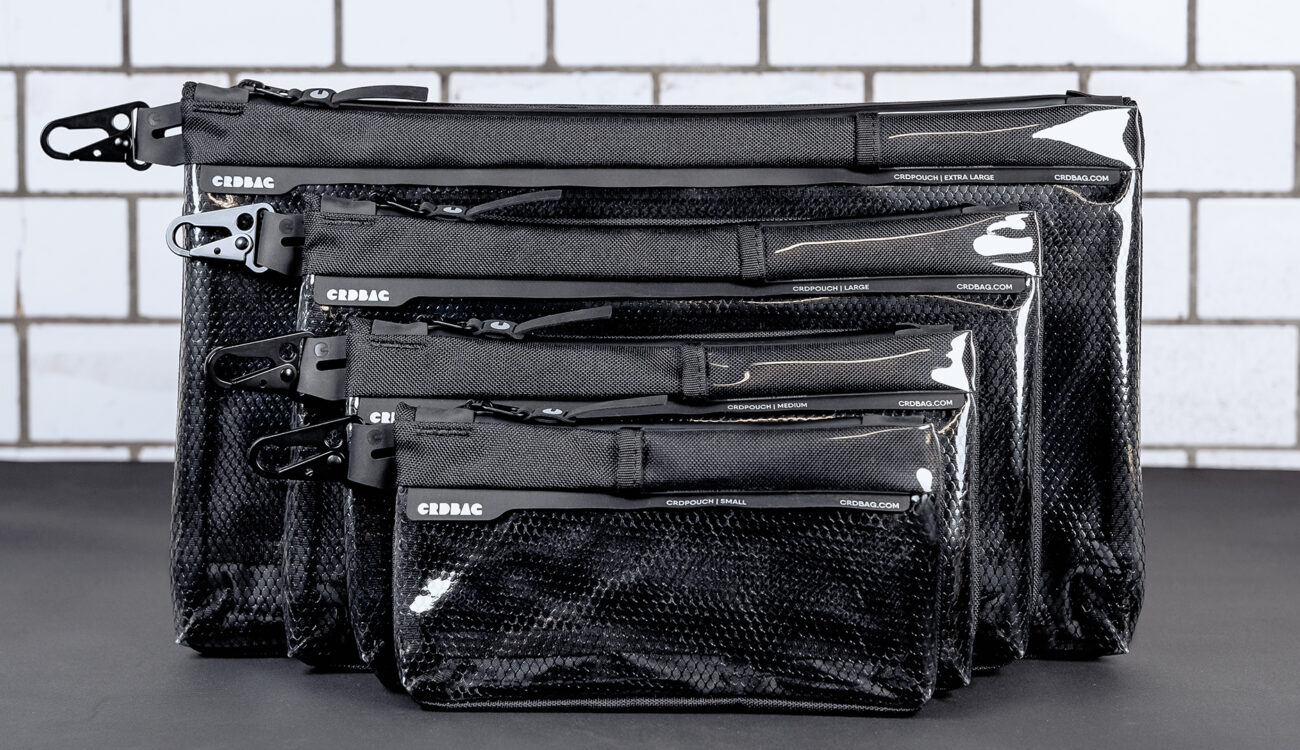 CRDBAG CRDPOUCH and CRDWALL Announced - Premium Storage Pouches