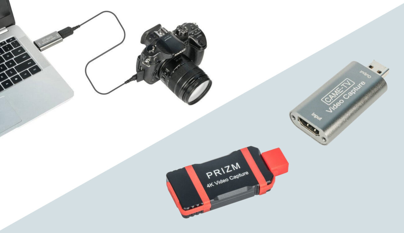 CAME-TV Video Capture Adapters for Live Streaming Announced