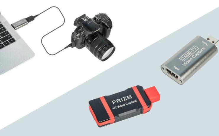 CAME-TVがライブ配信用ビデオキャプチャーアダプターを発表
