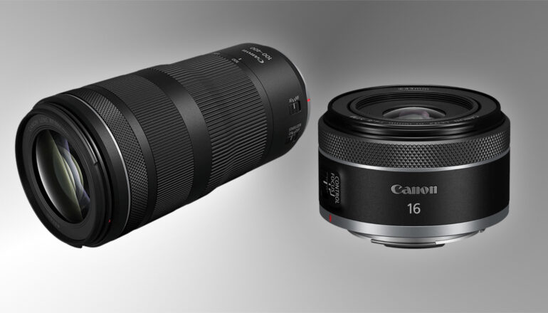 Canon RF 16mm F/2.8 STM and RF 100-400mm F/5.6-8 IS USM Introduced