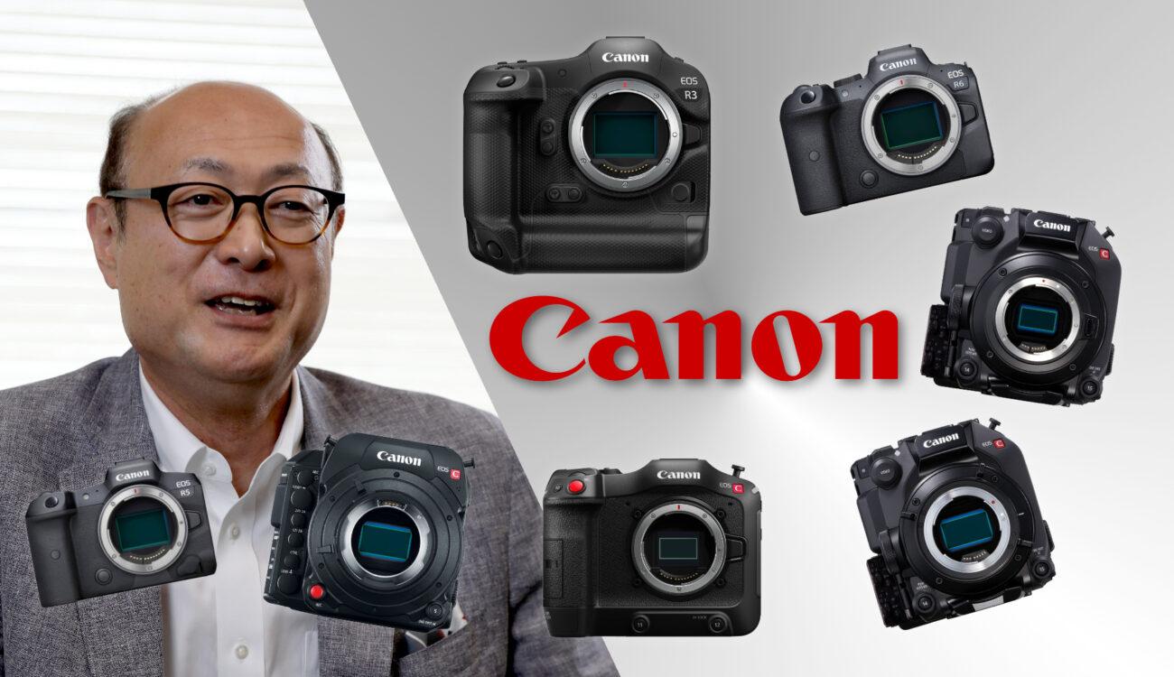 Entrevista sobre Canon – Nosotros preguntamos y Go Tokura-san de Canon nos dio las respuestas