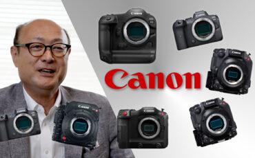 Canon Interview - We Asked, Canon's Go Tokura-san Answered