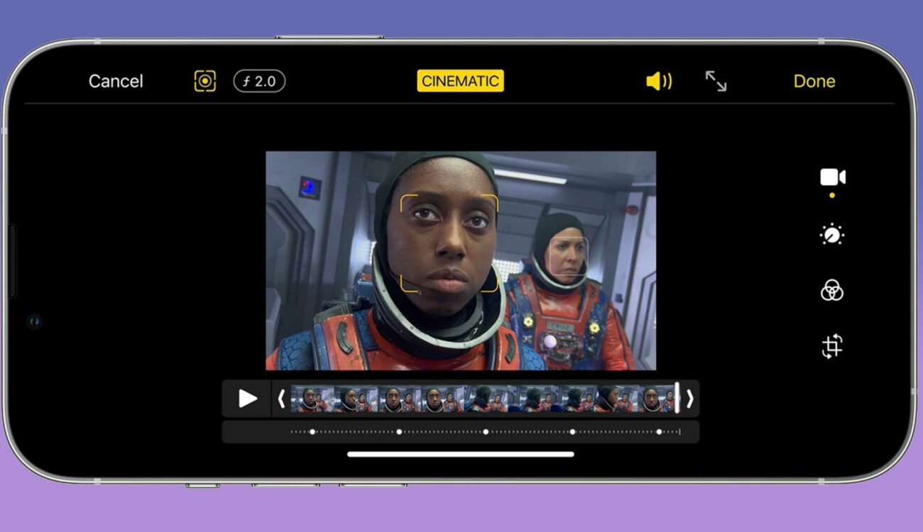 iMovie 2.3.3 for iOS – Change Depth-of-Field & Import ProRes (iPhone 13 Pro)