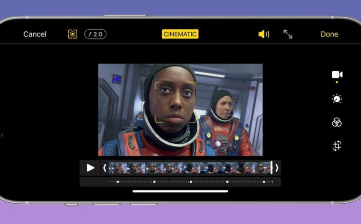 Lanzan la actualización iMovie 2.3.3 para iOS - Cambia la profundidad de campo e importa en ProRes (iPhone 13 Pro)