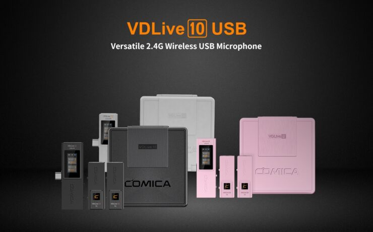 Comica VDLive10 Wireless Microphone Announced - USB, Lightning, and 3.5mm Options