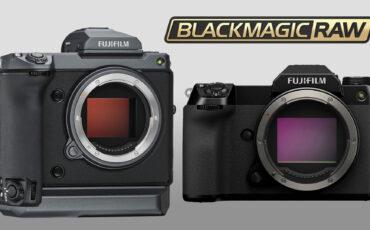Las cámaras FUJIFILM GFX 100 y 100S obtendrán la salida Blackmagic RAW