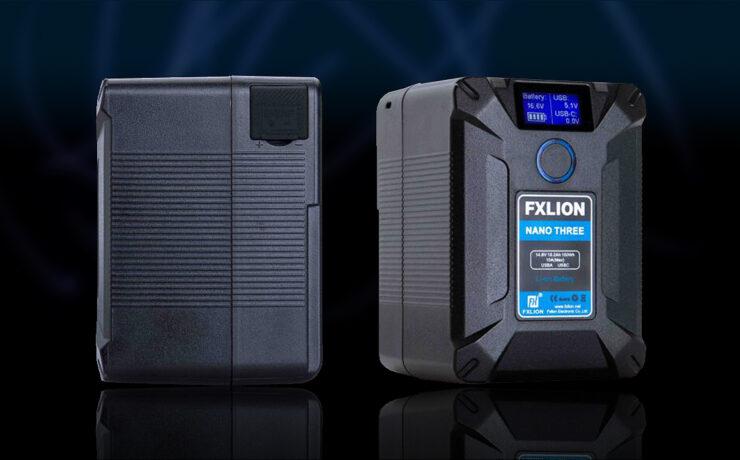 FXLIONがNANO THREE バッテリーを発売