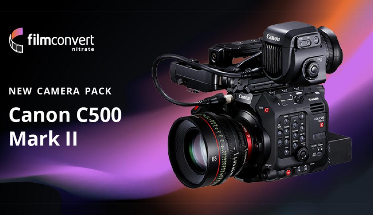 FilmConvert Profile for Canon EOS C500 Mark II Released