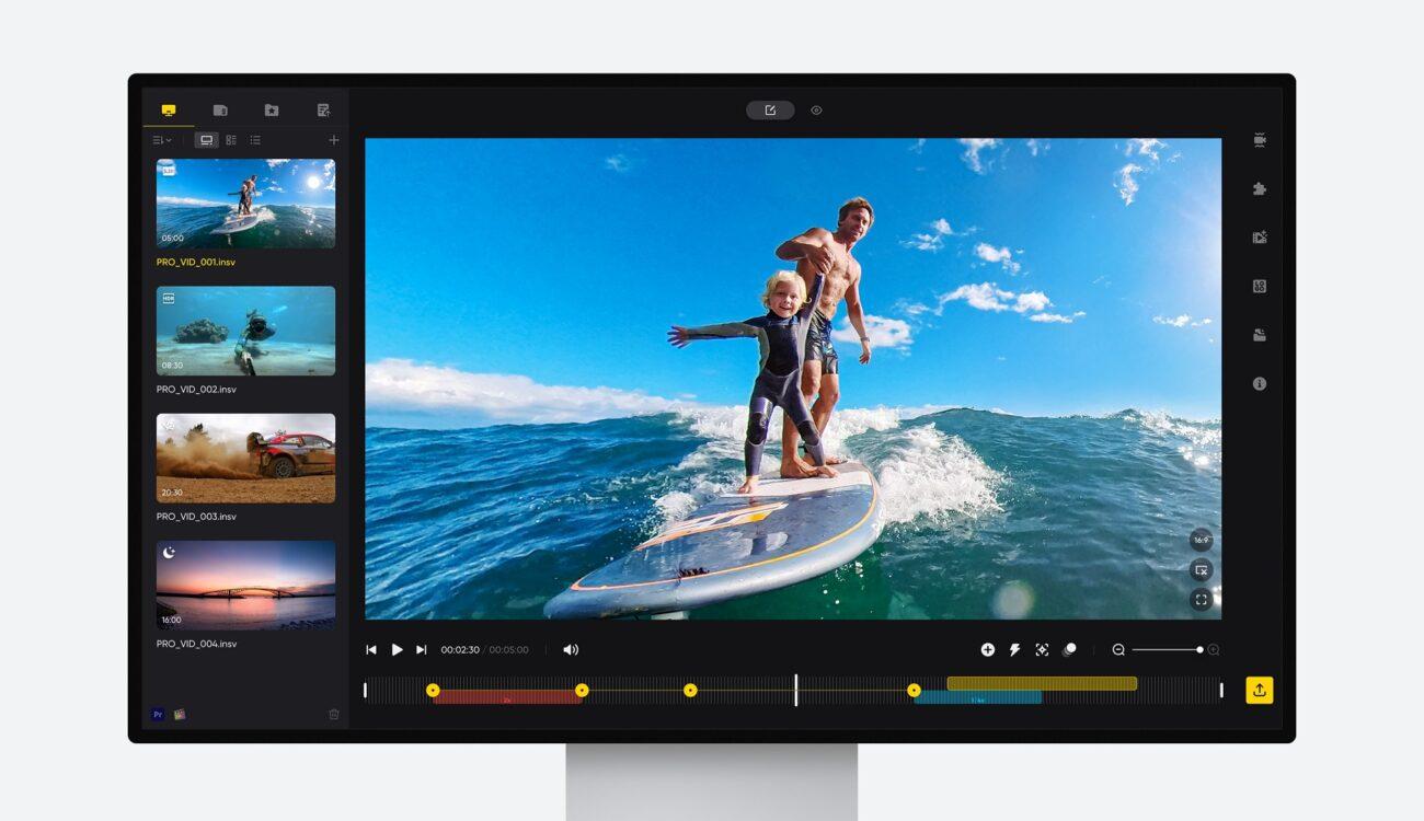 Insta360 Studio Update Brings Easier Editing Experience on Desktop