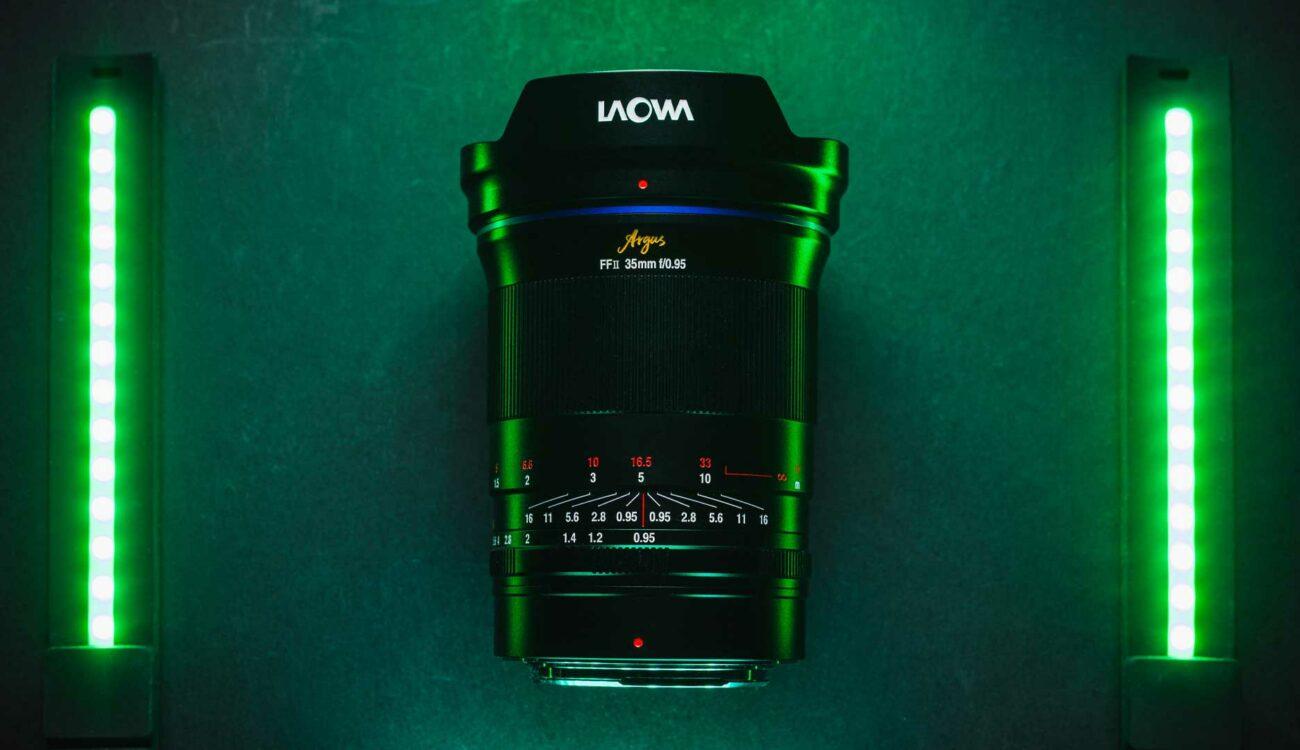 Laowa Argus 35mm f/0.95 Released - Their Widest Ultra-fast Full-frame Lens yet