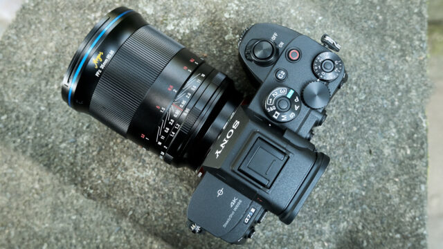 Laowa Argus 35mm f/0.95 FF lens on a Sony a7S III