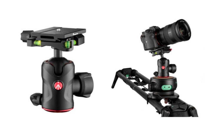 Manfrotto MH496-Q6 Ball Head Introduced - Now Arca-Compatible