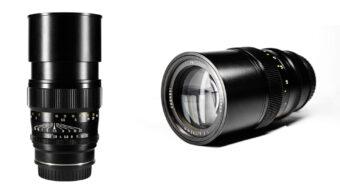 Mitakon Creator 135mm F2.5を発売 - 低価格のマニュアルフルフレームレンズ