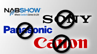 ソニー、キヤノン、パナソニックはNAB2021に不参加