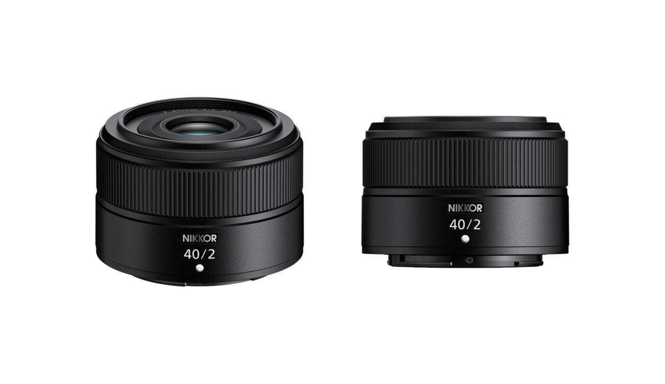 Anuncian el lente Nikon NIKKOR Z 40mm F/2