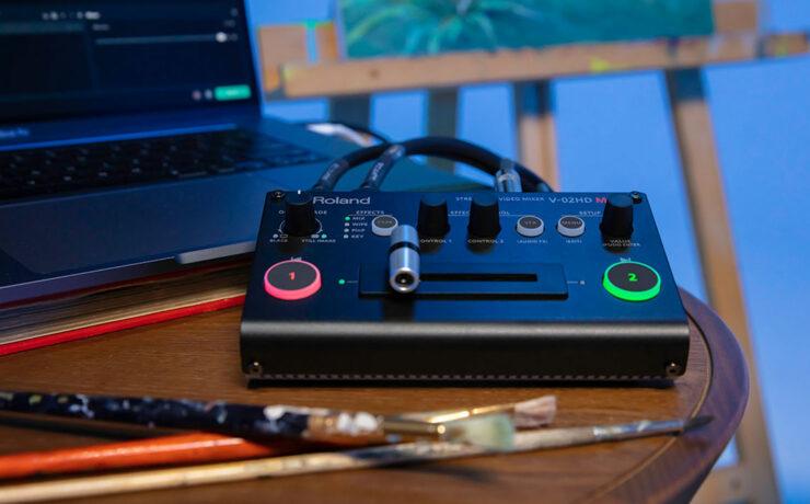 Presentan el Roland V-02HD MK II - Mezclador de video en tiempo real