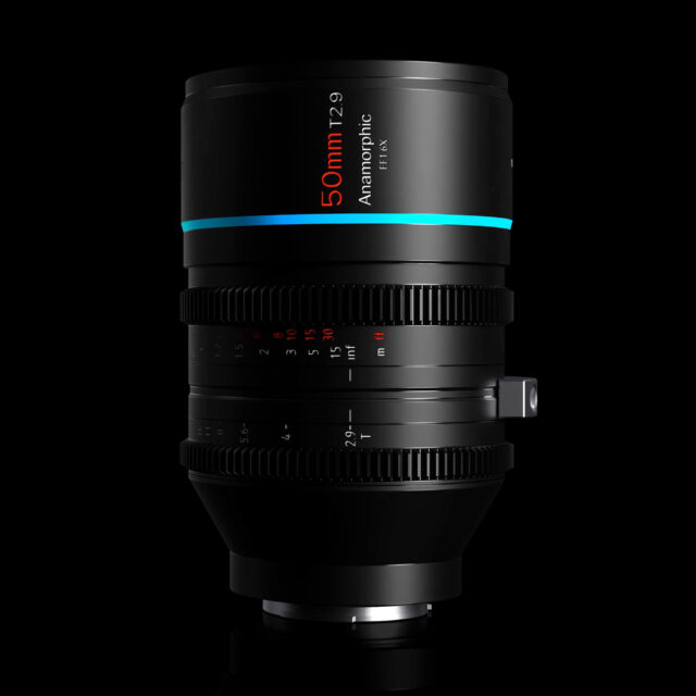 SIRUI 50mm T2.9 1.6x Full-Frame Anamorphic Lens