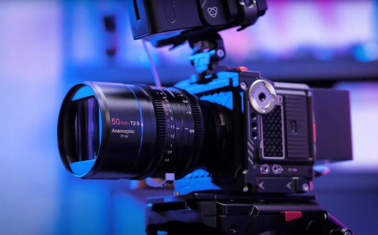 Anuncian el lente anamórfico full-frame SIRUI 50mm T2.9 1.6x