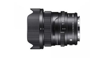 Anuncian el SIGMA 24mm F/2 DG DN – Lente prime premium, compacto y gran angular