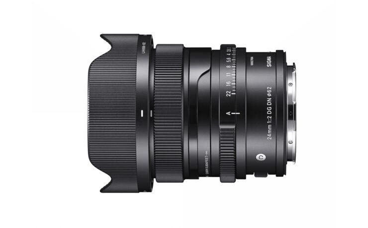 SIGMA 24mm F/2 DG DN Announced - Premium Compact Wide-Angle Prime