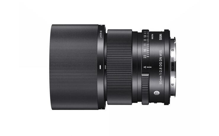 SIGMA 90mm F/2.8 DG DN Announced - Compact Portrait Lens