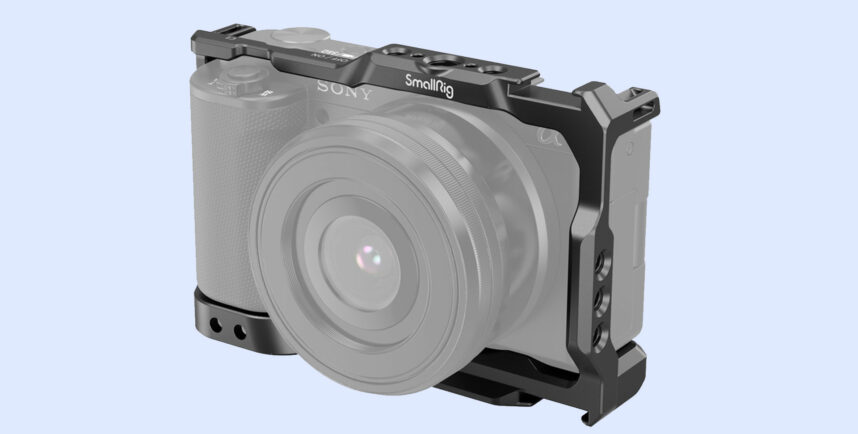 SmallRig Cage for Sony ZV-E10 Released