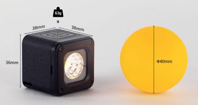 SmallRig RM01 size comparison