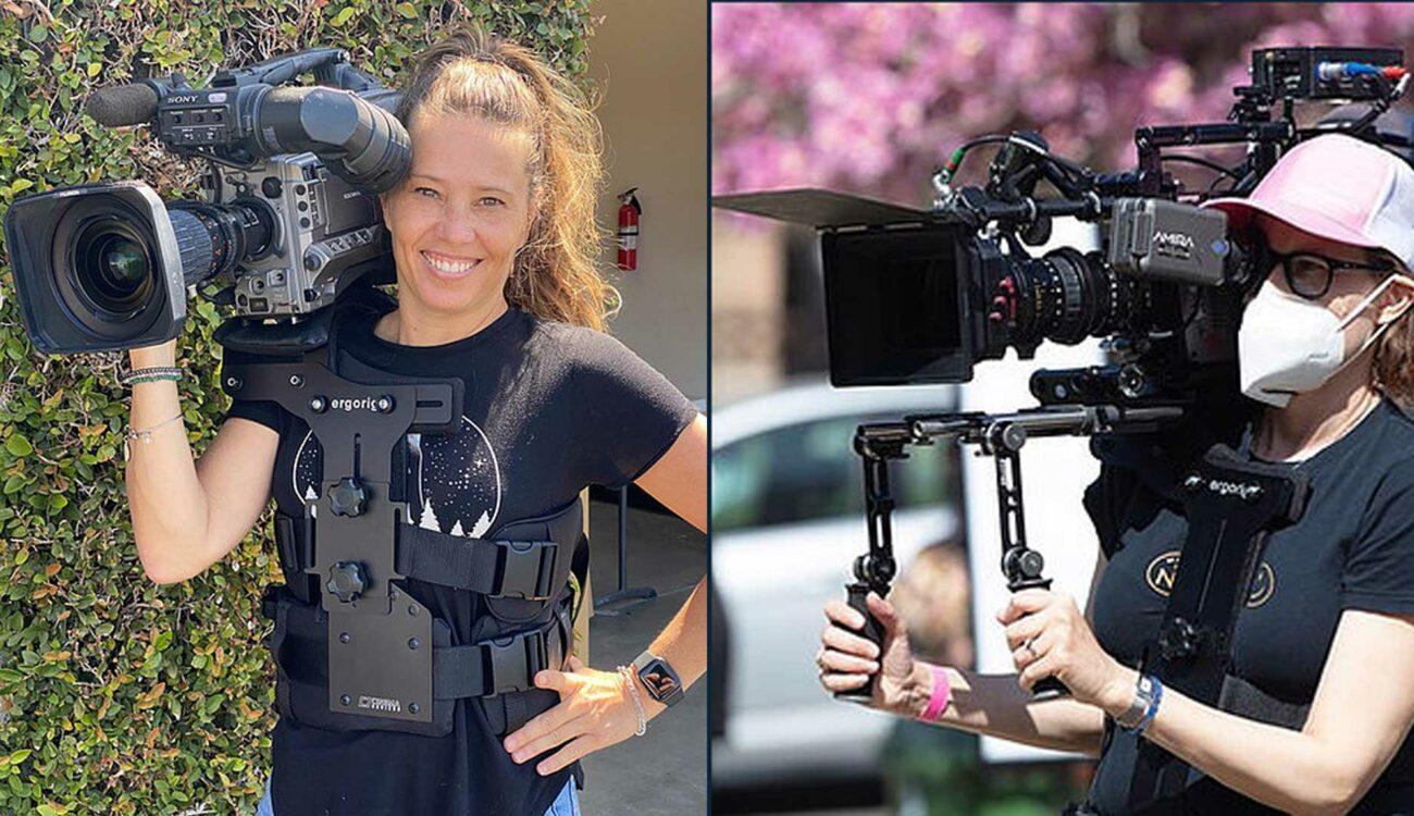 女性カメラオペレーターのための「Ergorig CenterFit」を発売