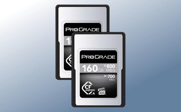 Anuncian las tarjetas de memoria ProGrade CFexpress Tipo A Cobalt