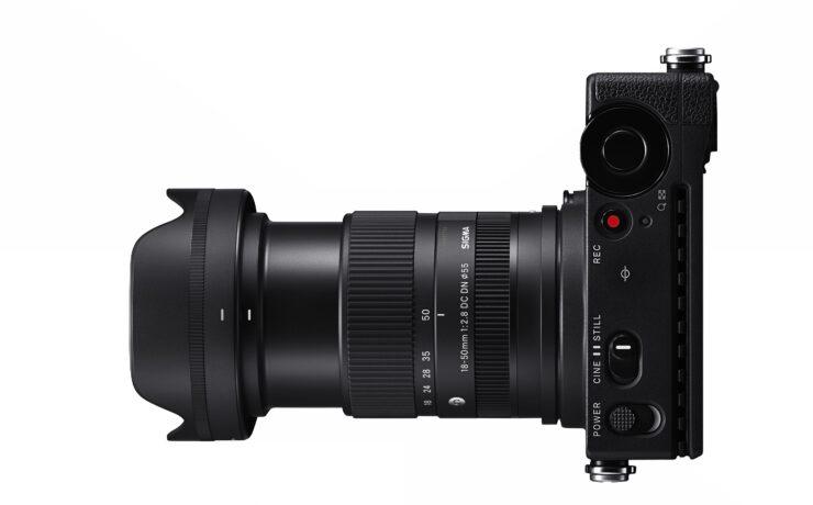 Anuncian el SIGMA 18-50mm F/2.8 DC DN - Lente compacto todoterreno para cámaras APS-C mirrorless