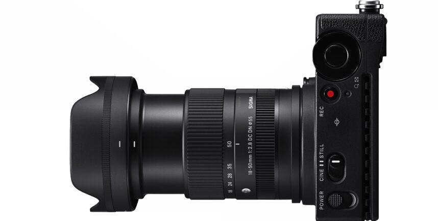 シグマがミラーレスAPS-Cカメラ用のコンパクトな万能レンズ「18-50mm F/2.8 DC DN」を発表