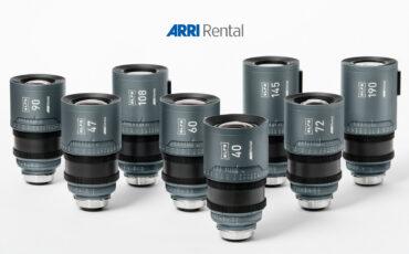 ARRIレンタルがALFAとMoviecamの大口径レンズシリーズを発表
