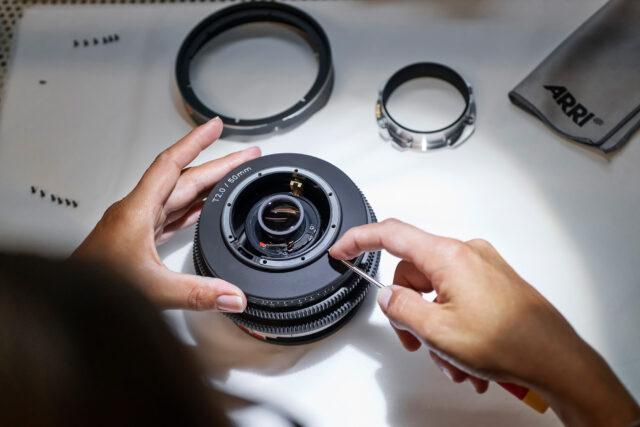 ARRI Rental Moviecam manufacturing process