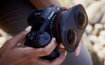 Canon RF 5.2mm F/2.8L Dual Fisheye 3D VR Lens Announced