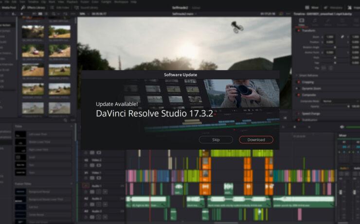 Lanzan DaVinci Resolve 17.3.2 - Blackmagic RAW SDK 2.2 y mucho más