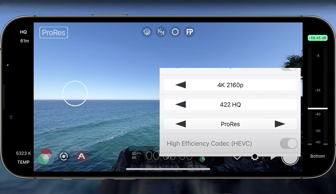 ProRes for iPhone 13 Pro is Here via FiLMiC Pro and it Looks Amazing