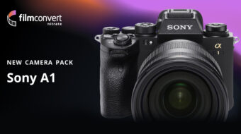 FilmConvert Sony a1 Camera Pack now Available