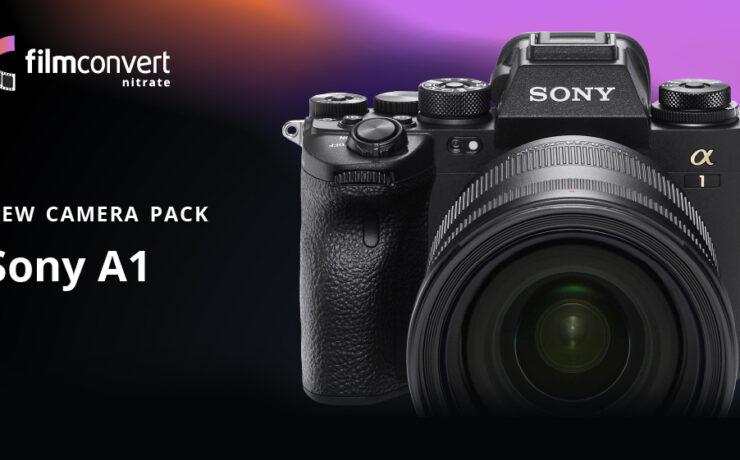 El paquete de cámara FilmConvert para la Sony a1 ya está disponible