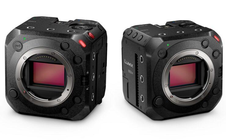 パナソニックがボックス型フルフレームカメラLUMIX BS1Hを発表