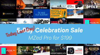 Few Hours Left! MZed Pro Filmmaking Courses Annual Subscription - $199 Instead of $349!