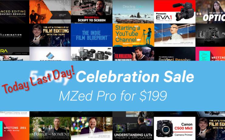 CineDがMZed Proを買収:年間サブスクリプションを349ドルのところを199ドルに!(期間限定)