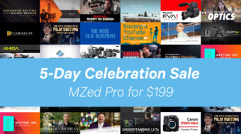MZed Pro Filmmaking Courses Annual Subscription - $199 Instead of $349!