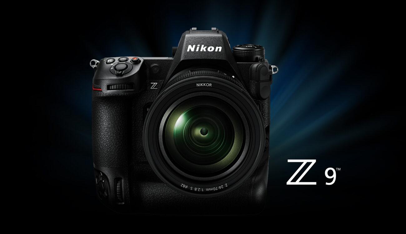 ニコンZ 9が登場!フルフレーム8K動画、45メガピクセル積層型センサーを搭載