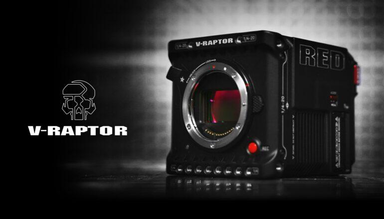 La RED V-RAPTOR Black Edition ya está disponible para pre-pedido