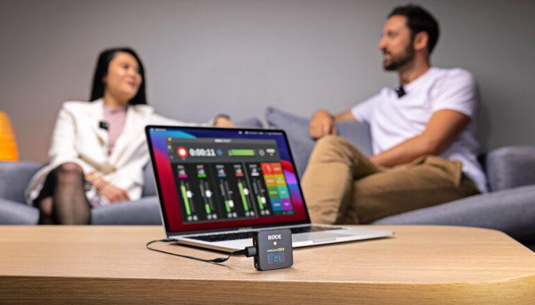 RØDE Wireless GO II ahora es compatible con las aplicaciones Central Mobile y Connect