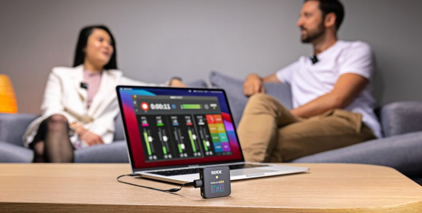RØDE Wireless GO IIがCentral MobileとConnectアプリに対応