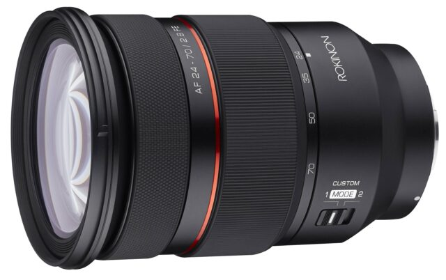 Samyang AF 24-70mm F2.8 FE Lens Announced – Optimized for Video Shooting