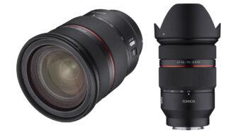 Samyang AF 24-70mm F2.8 FE Lens Announced - Optimized for Video Shooting