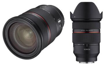 Samyang(サムヤン)が動画撮影に最適化した「AF 24-70mm F2.8 FEレンズ」を発表